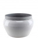 Keramik Schale Weiko, L36cm, B32cm, H24cm, Öffnung